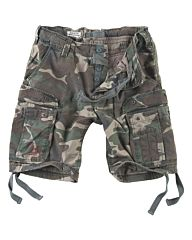 Surplus Airborne Vintage Shorts woodland camo