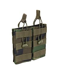 101Inc Molle pouch Mag. open F woodland camo