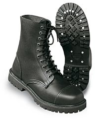 Undercover stiefel boots (kisten) zwart 10-hole