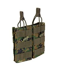 101Inc Molle pouch Mag. open F digital WDL camo