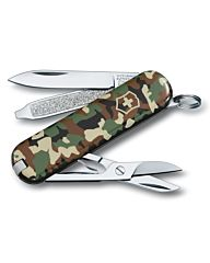 Victorinox zakmes Classic SD 7 functies camouflage