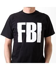 SML.X Fun t-shirt Tuff Teez FBI