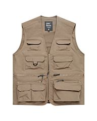 Vintage Industries Legend fishing vest beige