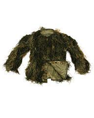 Ghillie Suit Parka woodland camo