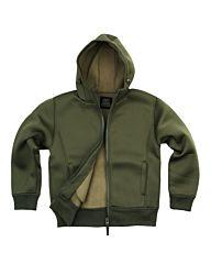 Fostex hooded neoprene vest groen