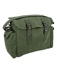 Highlander Heavy Haversack canvas (Pukkel) olive