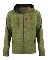 Life-Line Joey Fleece Jacket Hood Zip olive