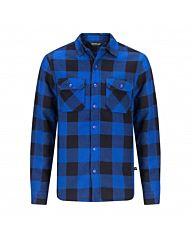 Life-Line Joris Overhemd Gevoerd blauw