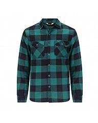 Life-Line Joris Overhemd Gevoerd groen