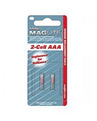 Maglite reserve lampje 2XAAA 2st.