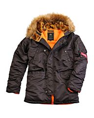 Alpha Industries N3B VF 59 Parka brown