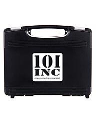 101inc Pistol Case small with pre-cut foam zwart