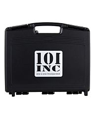 101inc Pistol Case with pre-cut foam zwart