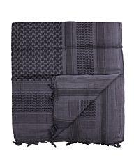 Arafat PLO sjaal zwart/grijs