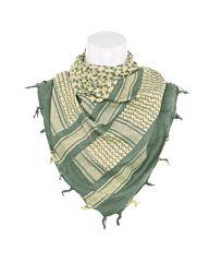 Arafat PLO sjaal sage green