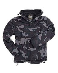 Surplus Windbreaker anorak black camo