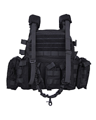 101inc Tactical vest Ranger LQ14122 zwart