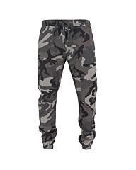 Urban Classics Camo Ripstop Jogging Pants dark camo