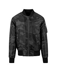 Urban Classics Camo Basic Bomber Jacket dark camo