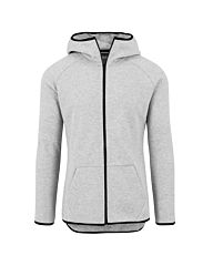 Urban Classics Athletic Interlock Zip Hoody grey