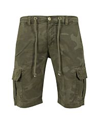 Urban Classics Camo Cargo Shorts olive camo
