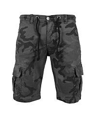 Urban Classics Camo Cargo Shorts grey camo