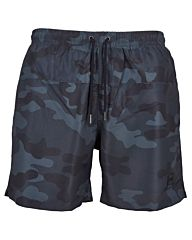 Urban Classics Camo Swim Shorts dark camo