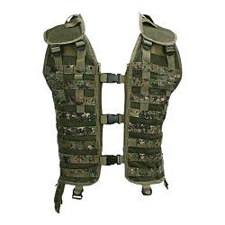 Tactical vest MOLLE system digital WDL camo