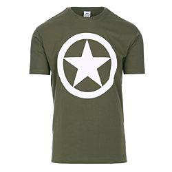 Fostex T-shirt Allied Star groen