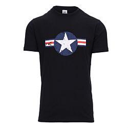 Fostex t-shirt USAF vintage zwart