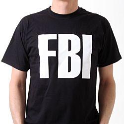 SML.X Fun t-shirt Tuff Teez FBI
