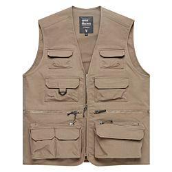 Vintage Industries Legend fishing vest beige