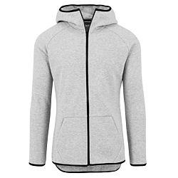 Urban Classics Athletic Interlock Zip Hoody grey