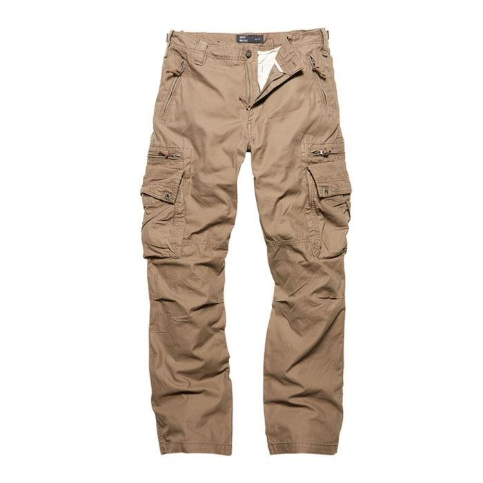 Vintage Industries Rico pantalon dark khaki