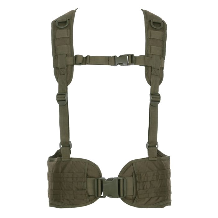 101inc Tactical belt with harnas groen