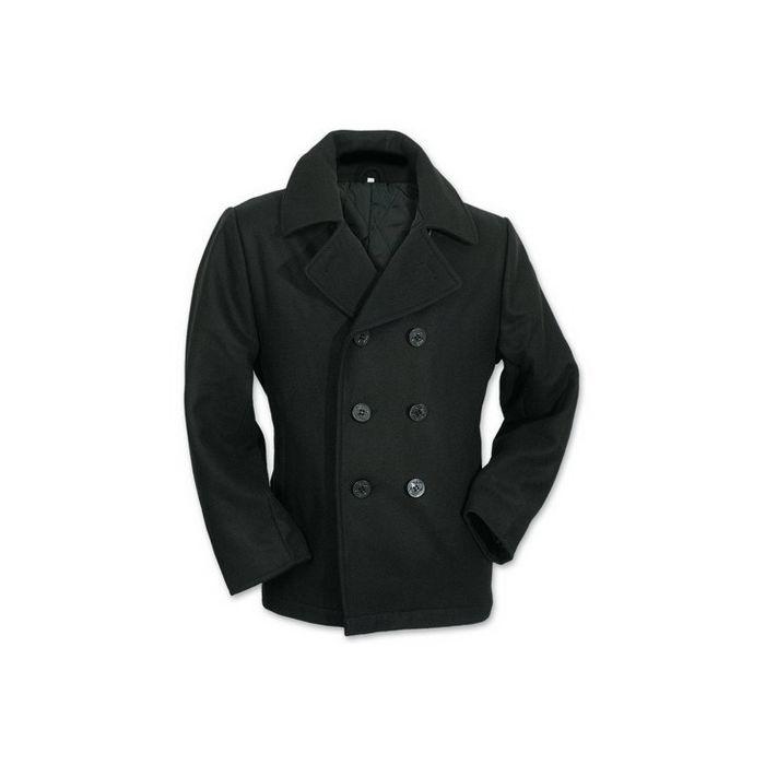 Pea Coat marine jekker zwart (kapiteins jas)