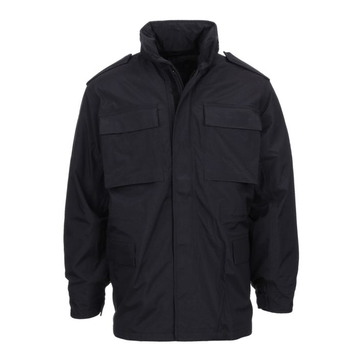 Fostex security parka jas zwart