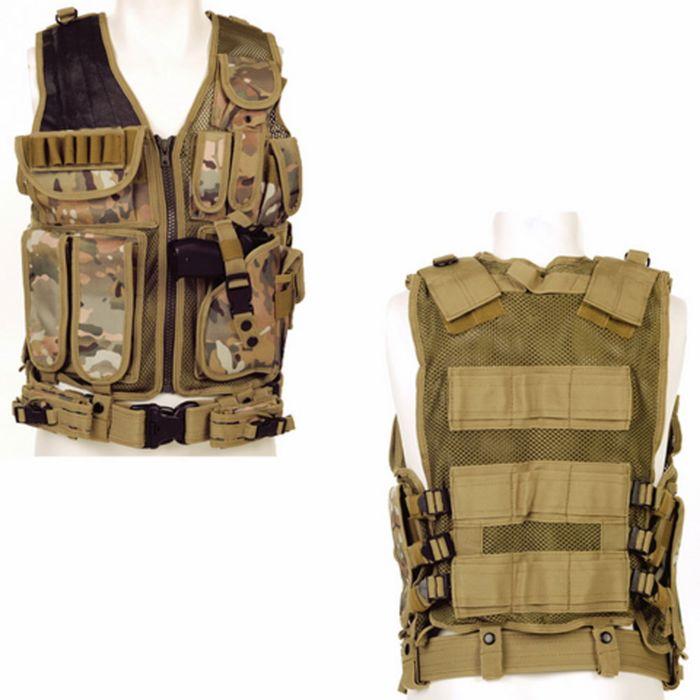 Tactical vest Predator multi camo