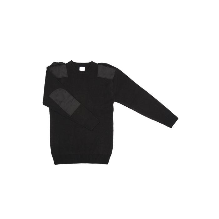 Fostex commando/werk trui acryl zwart