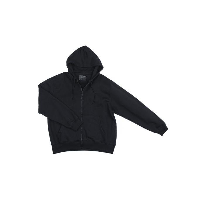 Fostex Hooded sweater met rits zwart