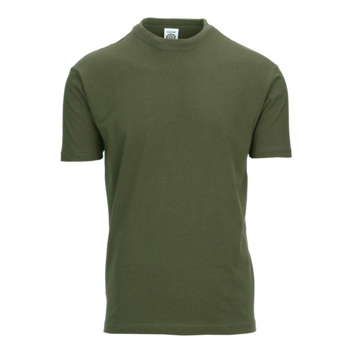 Fostex T-shirt Fostee plain legergroen