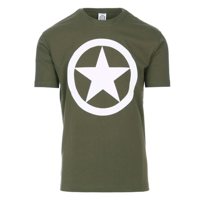Fostex T-shirt Allied Star groen