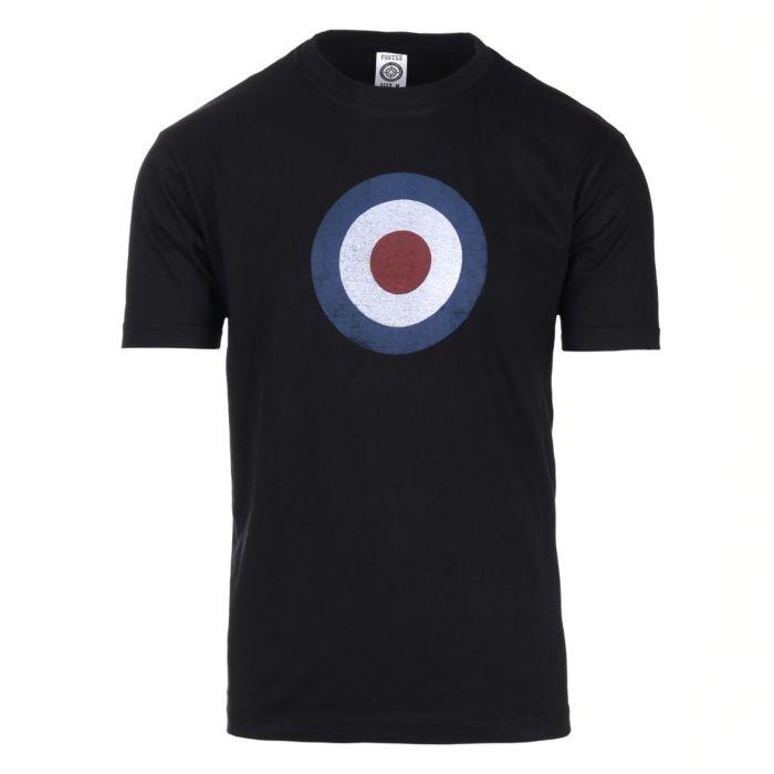 Fostex t-shirt Target RAF vintage zwart