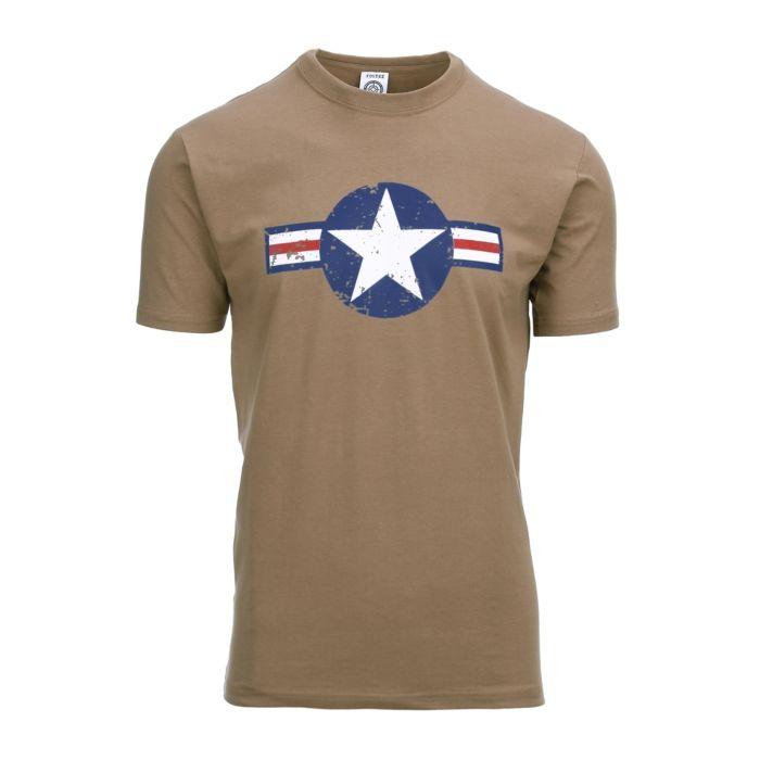 Fostex T-shirt USAF WWII Coyote