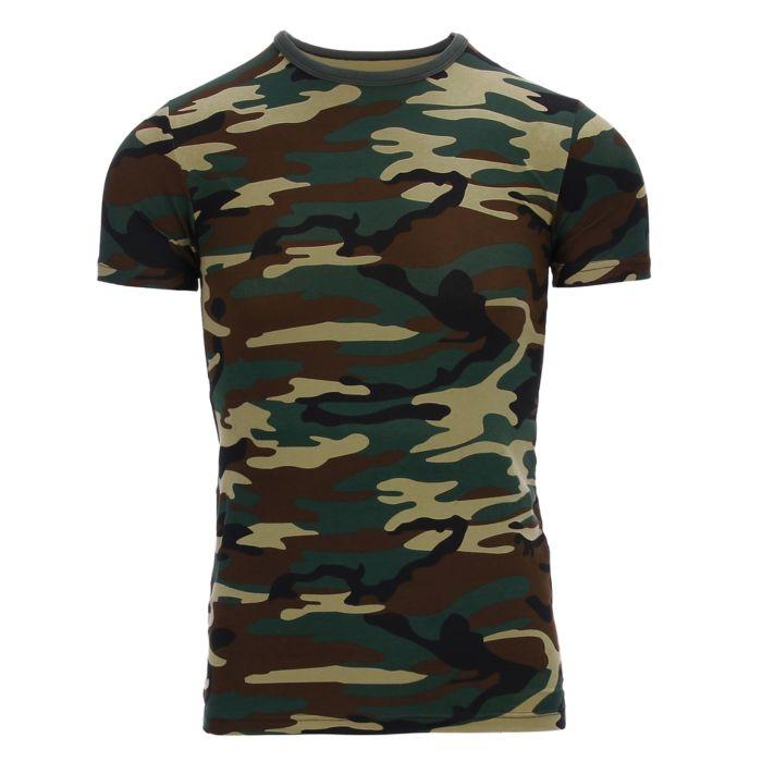 101inc kinder t-shirt camo woodland camo