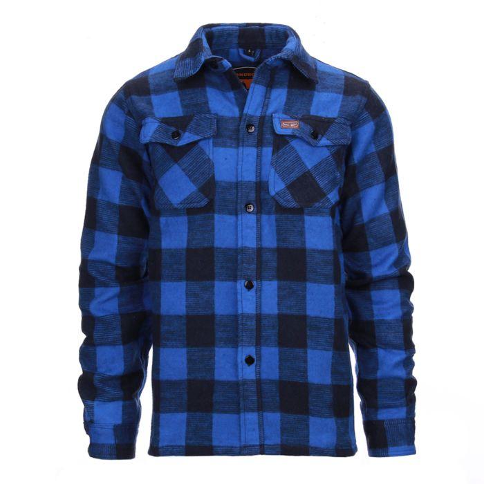 Longhorn houthakkers overhemd/jas Canada blauw