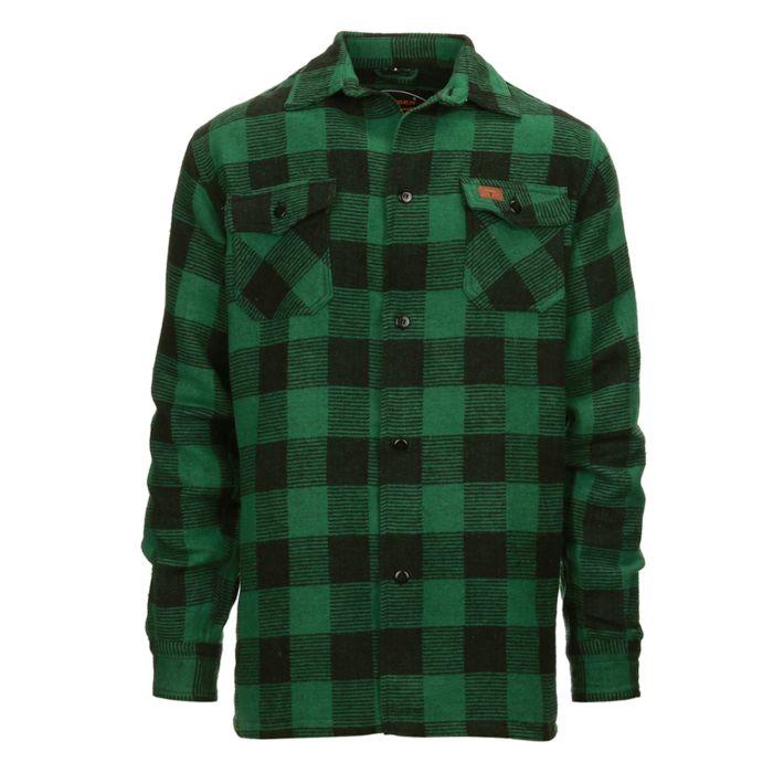 Longhorn houthakkers overhemd/jas Canada groen