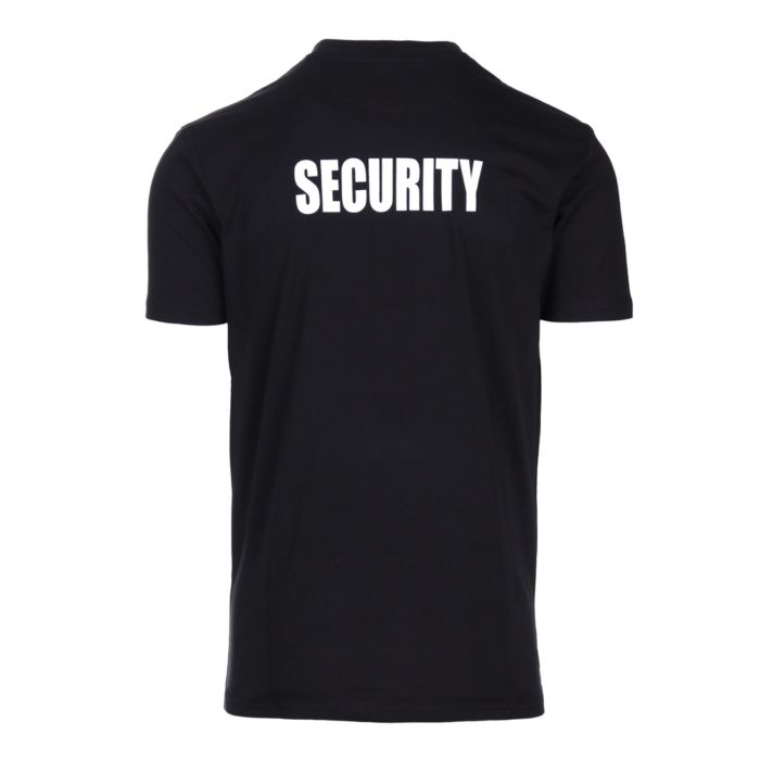 Fostex security t-shirt zwart