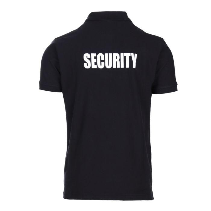 Fostex polo shirt security zwart
