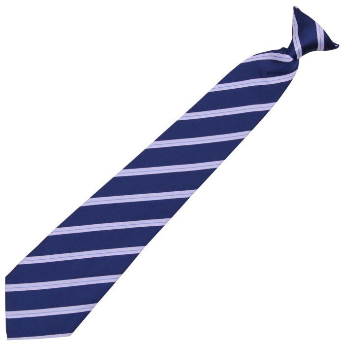 Fostex beveiliging stropdas grijs/blauw